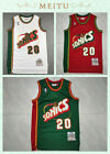 3 Colors Gary Payton #20 Seattle Supersonics Throwback Swingman Jersey S-XXL on eBay