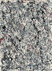 Jackson Pollock Number-19-1948 Print Canvas Large Wall Decor Poster