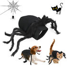 Halloween Pet Black Spider Dog Cat Clothes Party Dress Up Cospaly Costume Decor