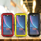 Multicolor 360° Aluminum Alloy Three-Defence Phone Protective Case for iPhone XR
