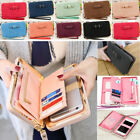 Women's Wallet High Capacity Bowknot  Long Purse Phone Card Holder Clutch Pocket image
