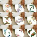 Diy Toilet Lid Seat Cover Wall Sticker Bathroom Decal Mural Home Christmas Decor