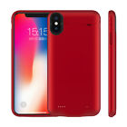 10000mAh For iPhone XS Max XR X 8 7 Battery Power Case Bank Charger Backup Cover