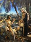 Nathan Greene WOMAN AT THE WELL Stretched S/N Canvas Giclee Biblical Art Print