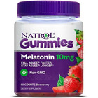 Natrol Melatonin 10mg GUMMIES, Strawberry Flavor, 90 Count Best By 06/2021 $11.99 USD on eBay