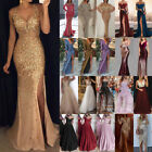 Women Sequins Glitter Maxi Dress Ladies Sexy Evening Charity Party Prom Ballgown