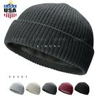 Fisherman Warm Winter Knit Ski Cuff Beanie Cap Watch Cap Daily Hat Skully