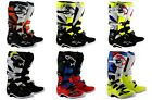 Alpinestars Tech 7 MX Boots Red Cyan Gray Black SHIPS FREE