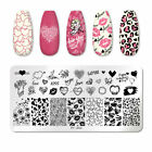 PICT YOU Nail Stamping Plates Christmas Fowers Tropical Geometry Image Templates