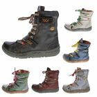 Women's Winter Ankle Boots Real Leather Padded Comfort Boots Tma 7087 Shoes