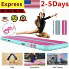 3/4/5/6M Airtrack Inflatable Air Track Tumbling Mat Pump Floor Gymnastics w/ Bag image