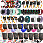 For Fitbit Versa 2/Versa/Versa Lite Silicone Leather Nylon Loop Replacement Band image