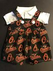 MLB Baltimore Orioles Baby Infant Toddler Boys Jumper Overalls  YOU PICK SIZE