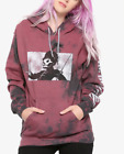 My Chemical Romance THE BLACK PARADE TIE-DYE Girls Women's HOODIE NEW Authentic