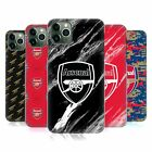 OFFICIAL ARSENAL FC CREST PATTERNS HARD BACK CASE FOR APPLE iPHONE PHONES