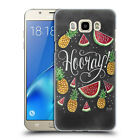 OFFICIAL LILY & VAL FOODIE TYPOGRAPHY BACK CASE FOR SAMSUNG PHONES 3