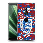 ENGLAND FOOTBALL TEAM 2018 CREST AND PATTERNS CASE FOR SONY PHONES 1