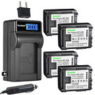 Kastar Battery LCD AC Charger for Canon BP-808 BP808 Canon HF G10 HF G20 Camera