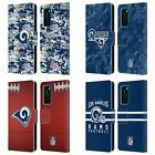 OFFICIAL NFL 2018/19 LOS ANGELES RAMS LEATHER BOOK CASE FOR HUAWEI PHONES $14.95 USD on eBay