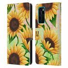 HEAD CASE ORGANIC FLORALS LEATHER BOOK WALLET CASE COVER FOR HUAWEI PHONES