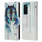 OFFICIAL PIXIE COLD ANIMALS LEATHER BOOK CASE FOR HUAWEI PHONES