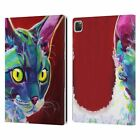 OFFICIAL DAWGART CATS LEATHER BOOK CASE FOR APPLE iPAD