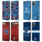 NFL 2018/19 TENNESSEE TITANS LEATHER BOOK WALLET CASE FOR APPLE iPHONE PHONES $19.95 USD on eBay