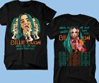 Billie Eilish T-shirt Where Do We Go? World Tour 2020 Pop Music Tee !!! image
