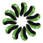 11pcs Neoprene Golf Club Iron Head Covers For Titleist Callaway Ping Taylormade