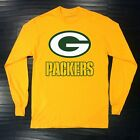 Green Bay Packers Long T-Shirt Graphic Cotton Logo Adult Jersey GB $17.99 USD on eBay