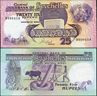 SEYCHELLES BANKNOTE 25 RUPEES - P.33 ND (1989) UNC