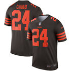 Nick Chubb Jersey Cleveland Browns Brown Color Adult Jersey 2019 $45.99 USD on eBay