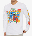 DRAGON BALL Z OMBRE Long Sleeve T-Shirt NEW Licensed & Official