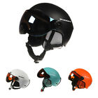 Men Women Riding Winter Snowboard Sports Protective With Goggles Ski Helmet