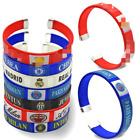 Real Madrid FC Barcelona Liverpool Chelsea Juventus Wristband Bands Bracelet
