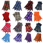 HW Highland Kilt Hose Sock Flashes Various Tartan/Scottish Kilts Socks flashes