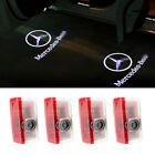 2/4 MERCEDES BENZ LOGO LAMP LED PROJECTOR CAR DOOR WELCOME LIGHTS LASER LIGHT