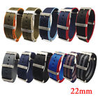 Nylon Watch Band Strap Replacement Wrist Band Sport Pin Buckle 20/22mm image