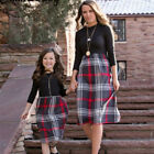 FixedPricemother and daughter christmas dress matching women girls casual family clothing