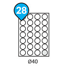 A4 Address Labels Self Adhesive White Sheets Sticker Paper Laser Printer Inkjet <br/> Labels per A4 Sheet:1 - 70 Type: Regular, Rounded, Oval
