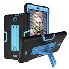 "For Alcatel 3T Tablet / Joy 8.0"" Case Hybrid Rugged Anti-Impact Kickstand Cover"