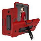 """For Alcatel 3T Tablet / Joy 8.0"""" Case Hybrid Rugged Anti-Impact Kickstand Cover"""