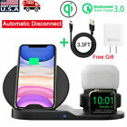 3in1 QI Wireless Charger Charging Station Dock Apple Watch iPhone AirPods / Pro
