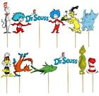 12/24 CUPCAKE DR SEUSS CAT IN THE HAT GRINCH PARTY CAKE TOPPER BALLOON SUPPLIES