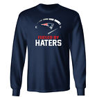 New England Patriots Fueled By Haters Long Sleeve Shirt- S-3XL $17.47 USD on eBay
