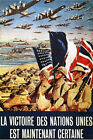 French WW2 Military Poster Certain Victory $15.99 USD on eBay