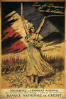 Vintage World War Two French Poster Flag Victory $15.99 USD on eBay