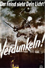 Vintage WW2 German Military Poster Der Fiend