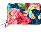 NWT! - Vera Bradley RFID TURNLOCK WALLET in Super Bloom image
