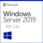 Windows Server 2019 Remote Desktop Services CAL - 10/20/50 User/Device RDS CAL